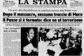 Le prime reazioni della stampa internazionale al rapimento di Moro