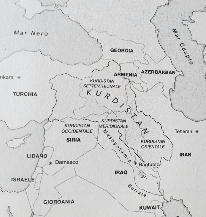 Cartina Kurdistan.La Resistenza Curda E Pornografia Bellica Per I Centri Sociali Totalitarismo Blog